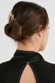 Marlowe gold-plated hair pin