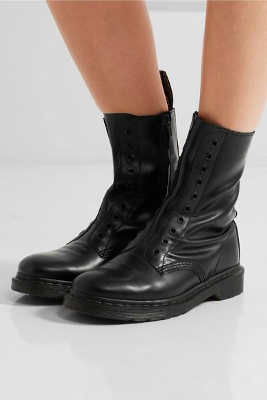nowy design topowe marki przystępna cena + Dr. Martens leather boots