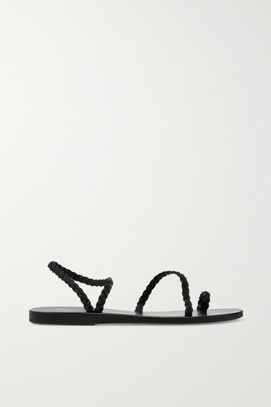 Ancient Greek Sandals | geflochtene Eleftheria geflochtene | Ledersandalen 3cddff