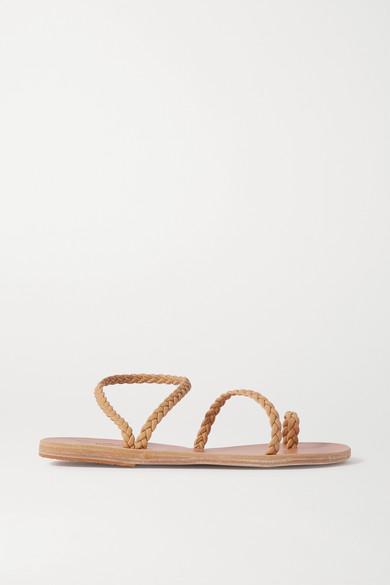 Ancient Greek Sandals Eleftheria Geflochtene Leader Sandal