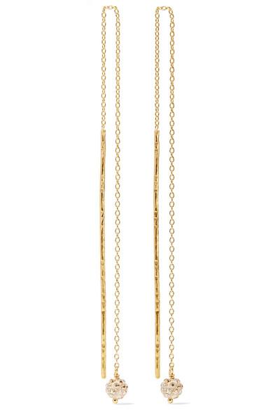 Gold-plated Earrings - one size Chan Luu jup0vchX