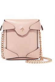 Pristine micro leather shoulder bag