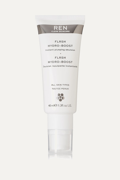 REN Skincare - Flash Hydro-boost Instant Plumping Emulsion, 40ml - Colorless