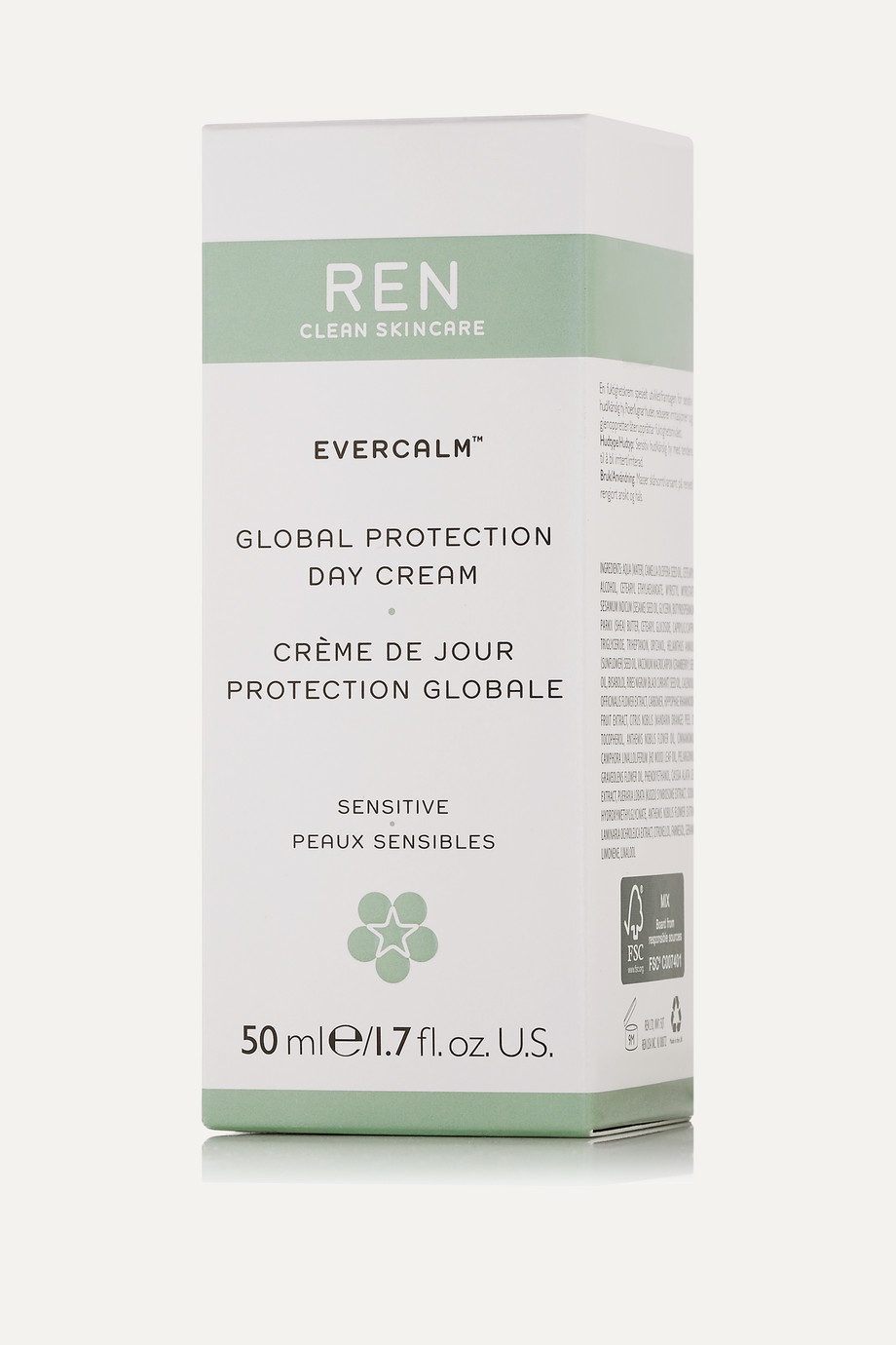 REN Clean Skincare Evercalm™ Global Protection Day Cream, 50ml