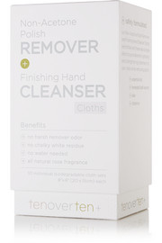 TenOverTen Non-Acetone Polish Remover + Finishing Hand Cleanser Cloths