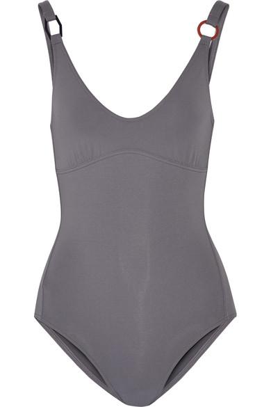 Eres - Geometrique Swimsuit - Anthracite