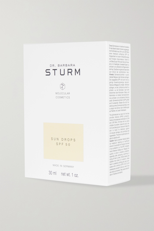 Dr. Barbara Sturm + NET SUSTAIN Sun Drops LSF 50, 30 ml – Sonnenschutzserum