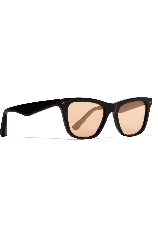 Elizabeth and James Campbell wayfarer-style acetate mirrored sunglasses