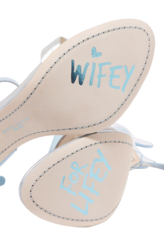 Sophia Webster Chiara 漆皮凉鞋