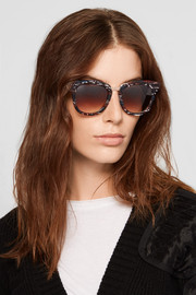 Thierry Lasry Mondanity cat-eye acetate and rose gold-tone sunglasses