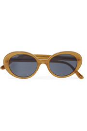 Oliver Peoples + The Row Parquet cat-eye acetate sunglasses