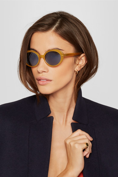 Cat Eye PeoplesThe Parquet Oliver Row Net Acetate Sunglasses HWD2Y9IE