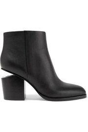 Alexander Wang Gabi cutout leather ankle boots
