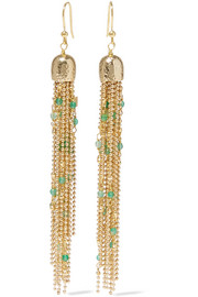 Rosantica Iliade gold-tone quartz earrings