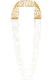 Rosantica Ardelia gold-tone necklace