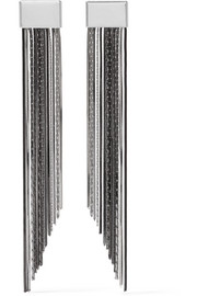 Rosantica Cattiva palladium-tone earrings