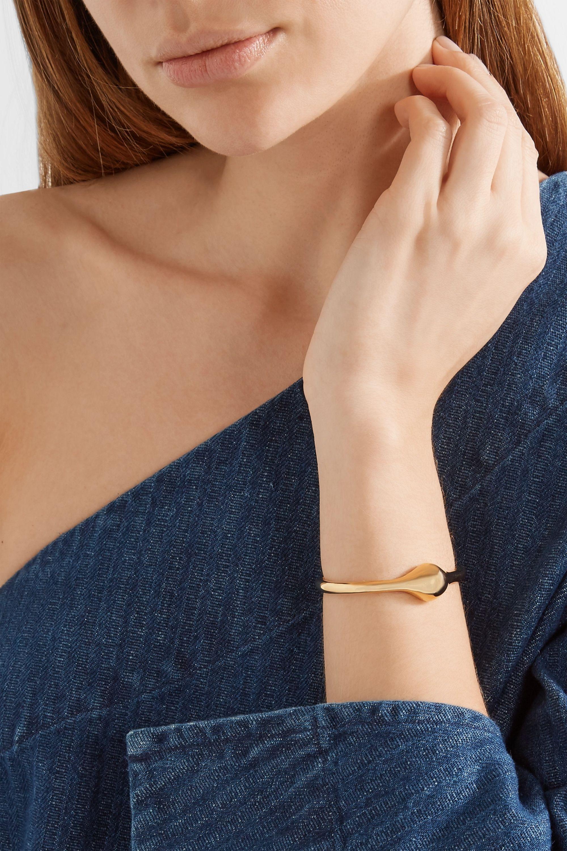 Jennifer Fisher Orb gold-plated cuff