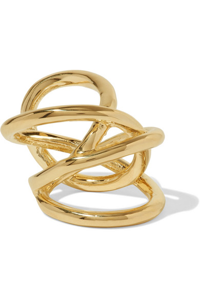 Jennifer Fisher - Gold-plated Ring