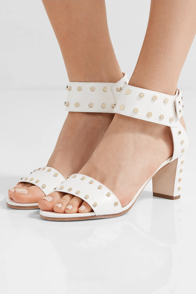 Jimmy Choo. Veto 65 studded leather sandals