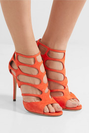 Ren suede cutout sandals