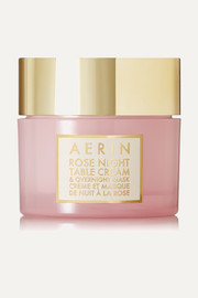 AERIN Beauty Rose Night Table Cream and Overnight Mask