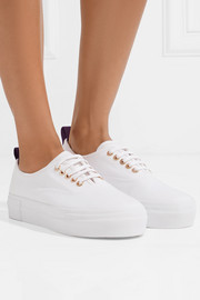 Mother cotton-canvas sneakers
