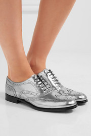 Burwood 3 mirrored-leather brogues