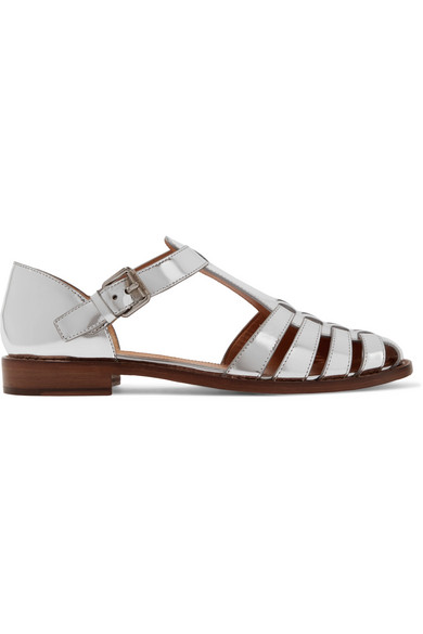 ffccf0b252d Church s. Kelsey metallic leather sandals
