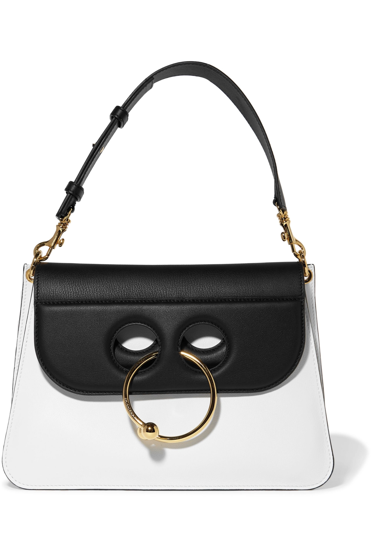 JW Anderson Pierce medium two-tone leather shoulder bag