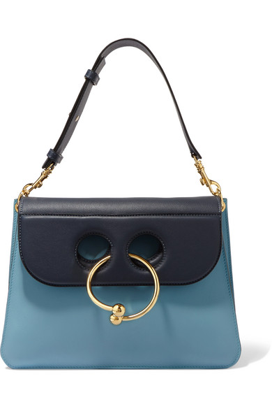 J.W.Anderson - Pierce Medium Leather Shoulder Bag - Blue