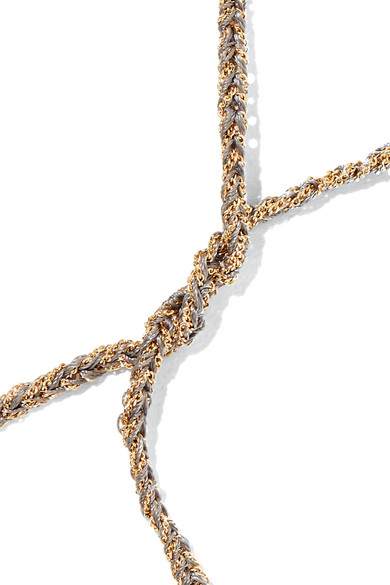 Aries Lucky 18-karat Gold, Diamond And Mother-of-pearl Necklace - one size Carolina Bucci