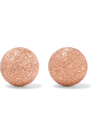 Carolina Bucci - 18-karat Rose Gold Earrings - one size