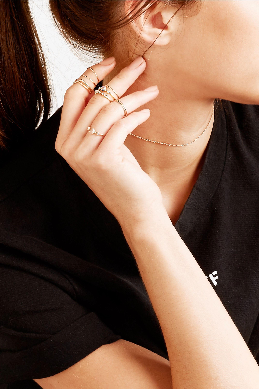 Catbird Mignon Memory 14-karat gold ring