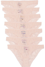 Knickers of the Week set of seven briefs
