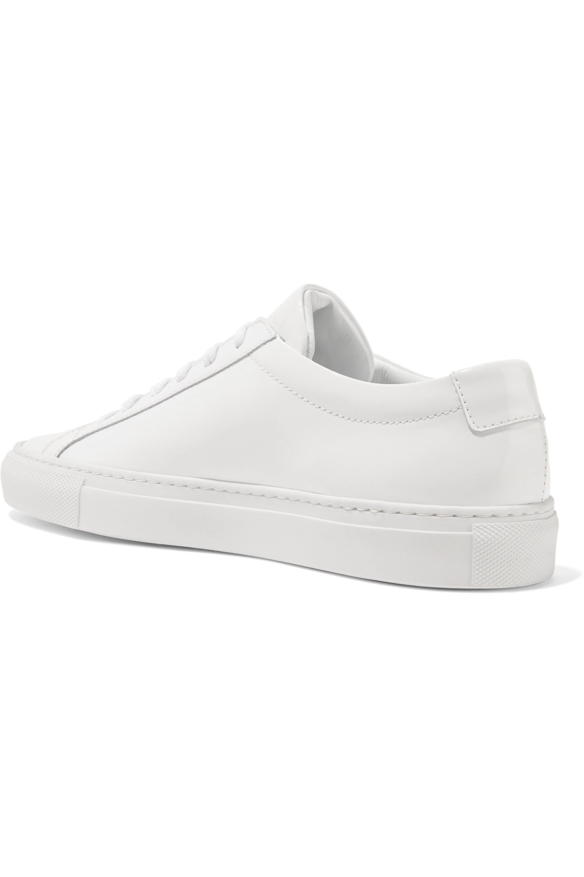 Common Projects Original Achilles patent-leather sneakers