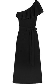 Lisa Marie Fernandez Arden one-shoulder broderie anglaise cotton maxi dress