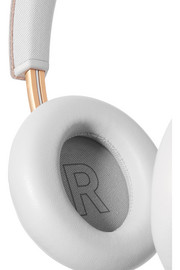 B&O Play H6 leather and gold-tone headphones
