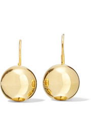 18-karat gold vermeil earrings