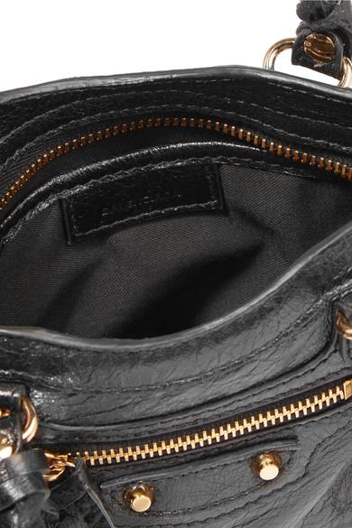 856e0bd4dcef Balenciaga. Classic City nano texured-leather shoulder bag.  1