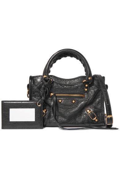 d24e95711d54 Balenciaga. Classic City nano texured-leather shoulder bag.  1