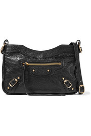 Classic Hip Arena textured-leather shoulder bag
