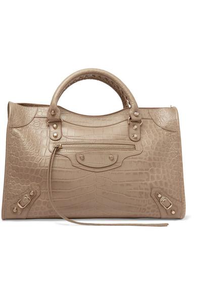 77901bc25c Balenciaga | Classic City croc-effect leather tote | NET-A-PORTER.COM