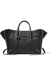 Balenciaga Papier A6 textured-leather tote