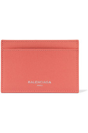 Balenciaga Textured-leather cardholder
