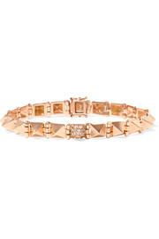 Anita Ko Spike 14-karat rose gold diamond bracelet