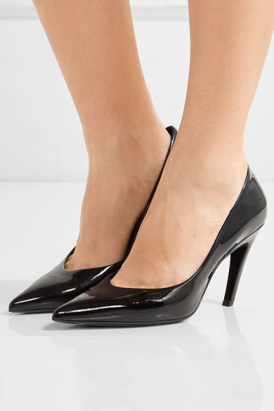 fd74713f52f8 Balenciaga. Talon Slash patent-leather pumps