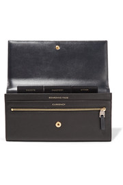 Smythson Panama Marshall textured-leather travel wallet