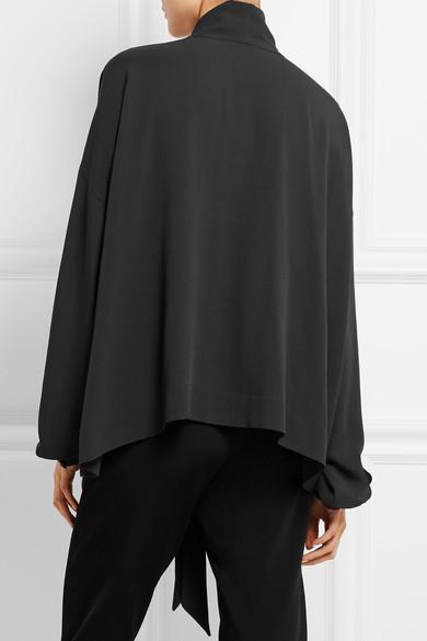 4db2d6c0dc45a Balenciaga. Silk blouse