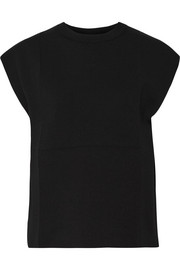 Balenciaga Cotton-blend jersey top