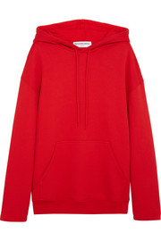 Balenciaga Cotton-jersey hooded top